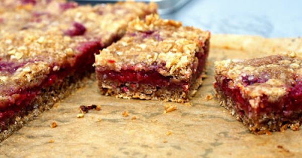 Raspberry breakfast bars | Yummy Things | Pinterest | Raspberry ...