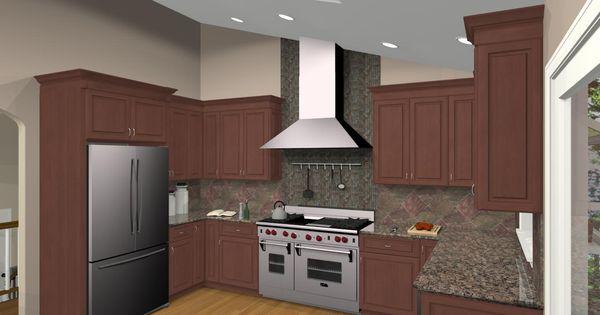 Bi level home remodel kitchen remodeling design options for Bi level kitchen remodel ideas