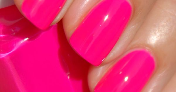 Essie: Short Shorts Next nail color? HotPink