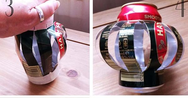 FINALLY SOMETHING TO DO WITH SODA CANS!!!!!! DIY Soda Can Tea Light