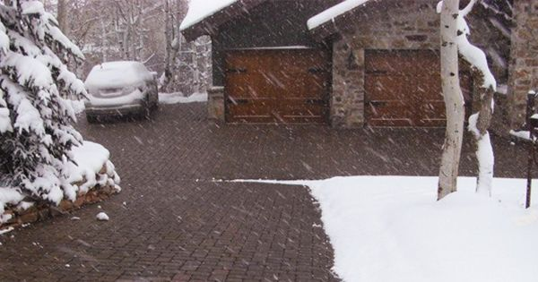 Radiant Heated Driveway With Pavers Permeable And Needs