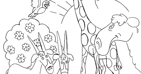 Creation coloring pages for preschoolers bible story for Coloring pages of creation