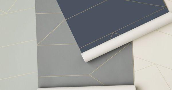 du papier peint inspir des ann es 30 ps photos et marie claire. Black Bedroom Furniture Sets. Home Design Ideas
