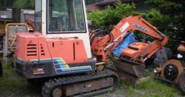 Takeuchi Tb25 Tb250 Compact Excavator Parts Manual Download Excavator Parts Excavator Repair Manuals