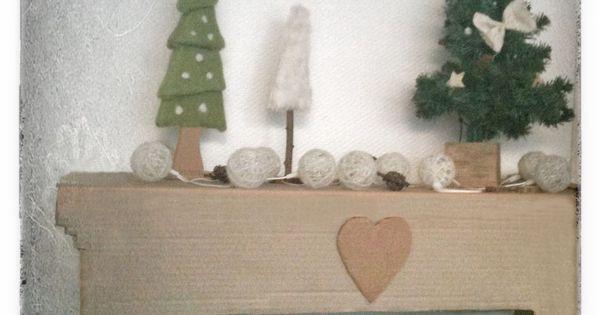 Une chemin e en carton pour no l instructions de bosch no l pinterest basteln et bricolage - Acheter une cheminee en carton ...