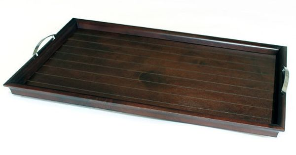 20 X 30 Ottoman Tray Serving Tray With Handles Via Etsy