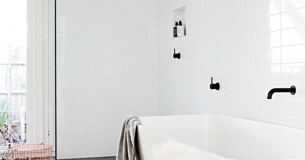 Image Result For Modern White Bathrooms Styling By Heather Nette King Photography By Armelle Habib