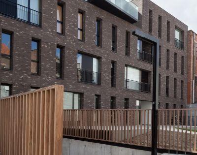 Residence ham gent projects caan architecten gent for Design appartement gent