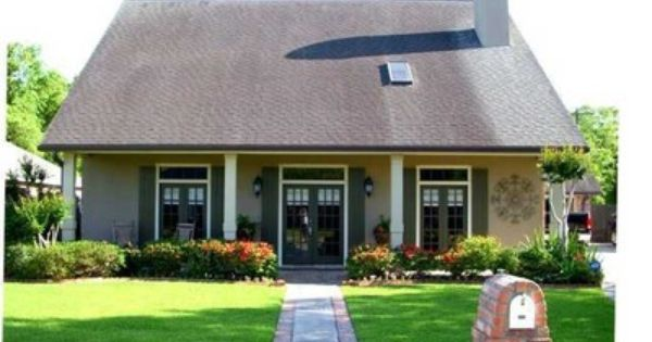 Landscape acadian style home architecture i love for Acadian home builders
