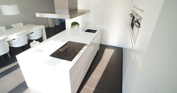 Kookeiland google zoeken huis nik en dorien pinterest kitchens and salons - Kookeiland tafel ...