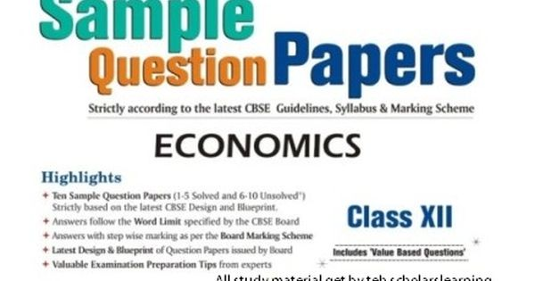 By joining Scholarslearning find the best tips for the study and the - new blueprint and model question paper for class xi