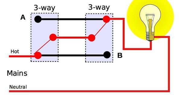 Wiring Diagram 3 Way Switch Light Switch Wiring Light Switch