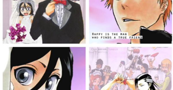 Ichigo rukia wedding