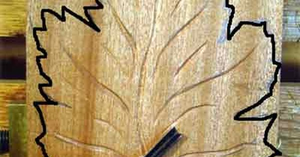Free wood carving patterns how to make