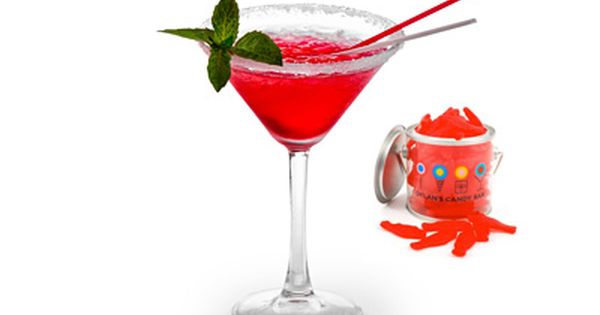 Swedish fish martini recipe swedish fish cranberry for Swedish fish shot