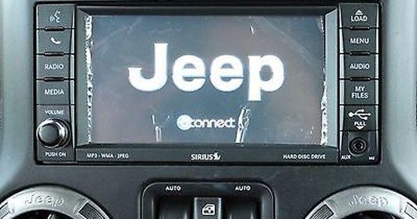 Jeep Wrangler 430 Rbz Sirius Dvd Mygig Radio 2017 2016 2015 2014 2013 2012 2011 Jeep Wrangler Jeep Mopar Jeep