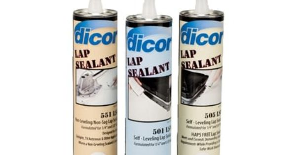 Dicor Self Leveling Lap Sealant Camping Travel Trailer