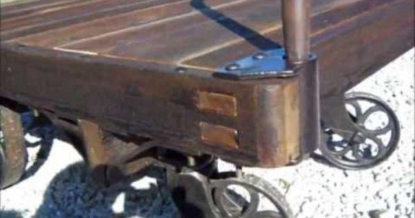Railroad Baggage Cart Restoration Youtube Restoration Vintage Train Abandoned Train
