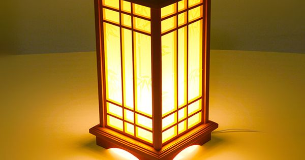 Marmenkina Japanese Style Table Lamp Indoor Lamp Living Room Floor Wood Lamp Bedroom Den Wood Paper Desk Lamp Ac110 240v Indoor Lamp Japanese Lamps Wood Lamps