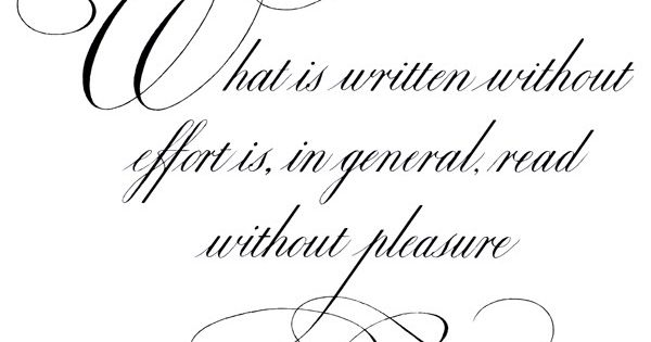 Fountain Pen Network Calligraphy By Caliken The Version