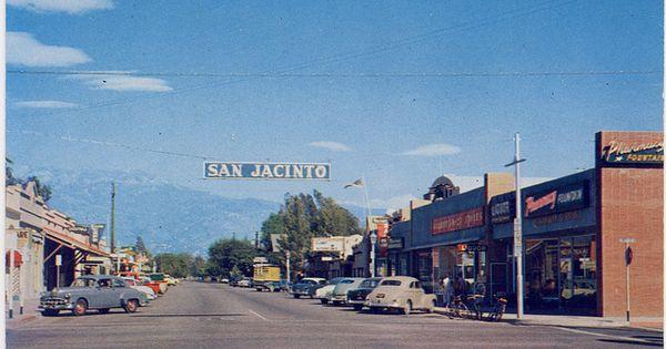 Downtown San Jacinto California 1950 S Http
