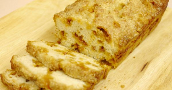 Rise and shine with Butterscotch Breakfast Bread made with Bountiful Beer Bread,