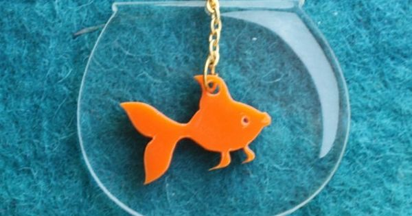 Goldfish necklace - DIY Idea