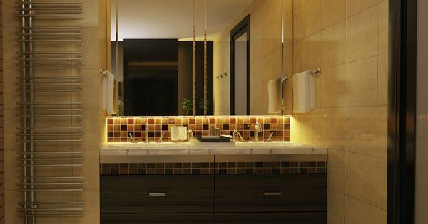 Strip led kit ruban led salle de bain 3m blanc chaud for Salle de bain 3m carre