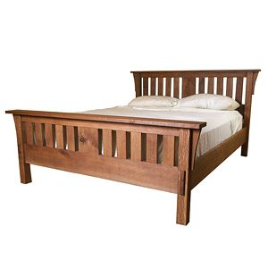 Build A Mission Style Bed Mission Style Beds Craftsman Bed