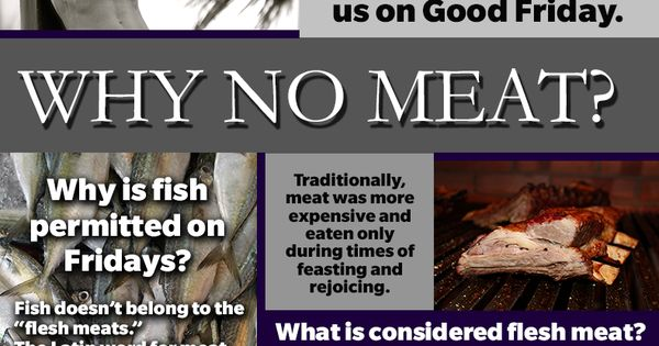 Why No Meat Catholic Lent Penance Sacrifice Lent2015