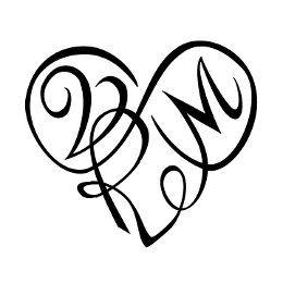Tattoo Of V R M Heart Eternal Bond Tattoo Custom Tattoo Designs On Tattootribes Com Monogram Tattoo Heart Tattoo Heart With Infinity Tattoo