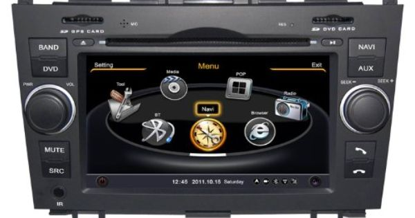 honda cr v bluetooth music