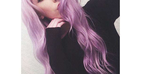 Gorgeous lavender hair HairColor PastelHair LavenderHair