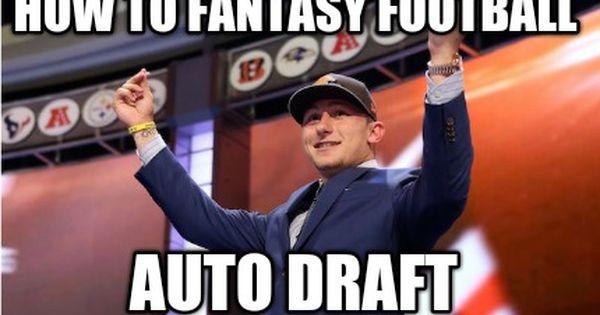 Meme Creator How To Fantasy Football Auto Draft Fantasy