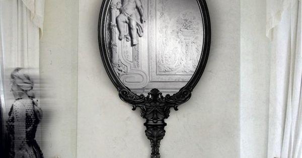 Miroir baroque et son unicité pour un domicile - chef-d'œuvre ...
