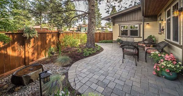 patio & landscaping for small backyard | driveway & hardscape