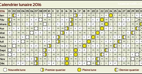 Calendrier lunaire 2016 organisation bullet journal agenda pinterest calendrier - Calendrier lunaire 2016 2017 ...