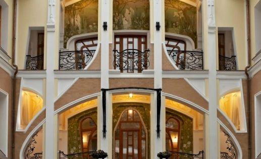 Russian neo art nouveau architecture art nouveau art for Neo art deco interior design