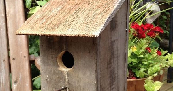 Best Diy Pallet Birdhouses Bird House From Pallet Wood And 400 x 300