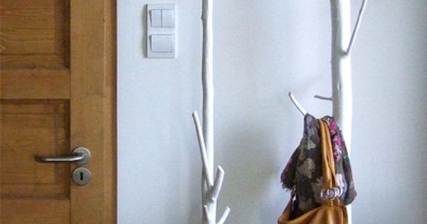 porte manteau diy pinterest pat res nature et arbres. Black Bedroom Furniture Sets. Home Design Ideas