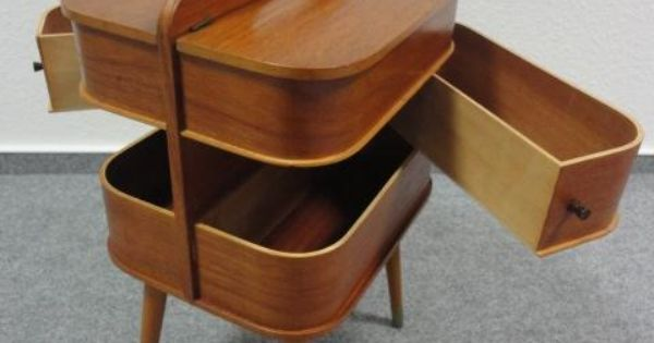Danish Sewing Box Designer Not Credited I Like The Way That It 39 S A Piece Of Furniture But Also
