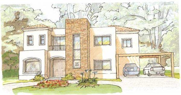 Bocetos de casas modernas dibujos buscar con google - Dibujos de casas modernas ...