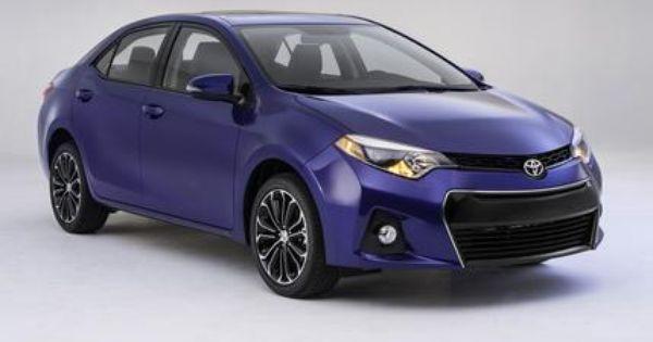 2014 Toyota Corolla Toyota Corolla Toyota Cars New Corolla