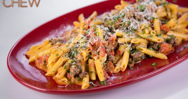 Baked Penne with Sausage from The Chew