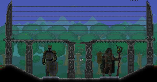 As Promised An Update To My Arena Terraria In 2021 Terraria House Design Terraria House Ideas Terrarium