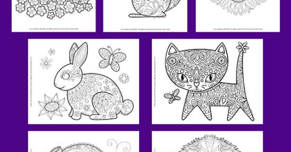 groovy animals coloring pages pdf 20 printable animal outlines to print and color coloring. Black Bedroom Furniture Sets. Home Design Ideas