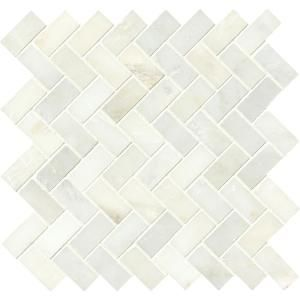 Msi Greecian White Beveled 12 In X 12 In X 10 Mm Polished Marble Mesh Mounted Mosaic Tile 1 Sq Ft Gre 2x4pb Stone Mosaic Tile Mosaic Tiles Mosaic Wall Tiles