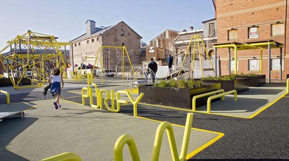 Hart s mill surrounds port adelaide australia aspect for Urban design adelaide