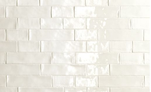 handmade look subway tile de fazio subway handmade white tile the way handmade 7462