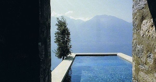 Pool with a magnificent view. I particularly like how the steps from